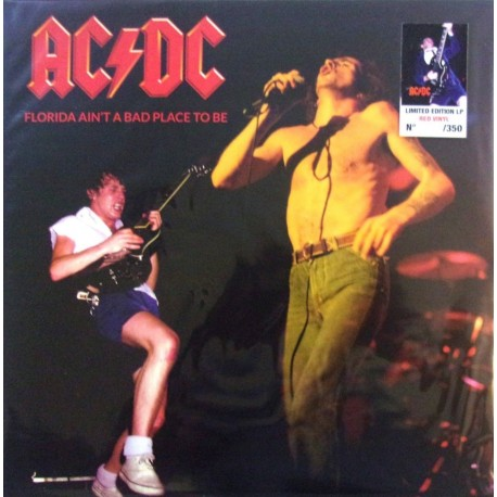 AC/DC – Florida Ain't A Bad Place To Be - LP Vinyl Album Limited Edition