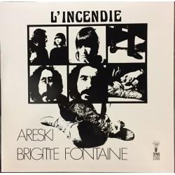 Areski & Brigitte Fontaine – L'Incendie - LP Vinyl Album Limited Edition