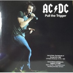 AC/DC ‎– Pull The Trigger - Double LP Vinyl Album Coloured