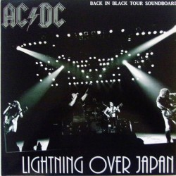 AC/DC ‎– Lightning Over Japan - LP Vinyl Album Coloured