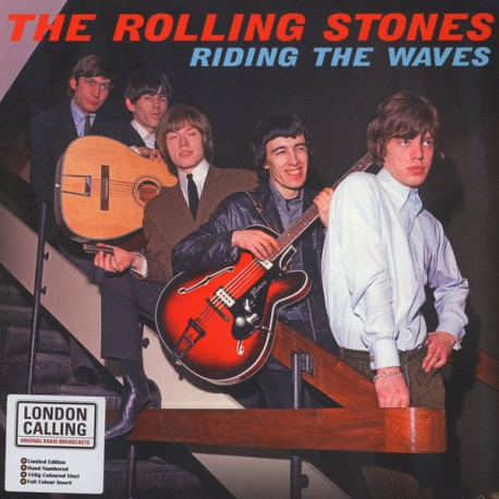 The Rolling Stones – Riding The Waves - LP Vinyl Album Limited Coloured