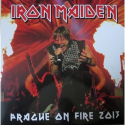 Iron Maiden ‎– Prague On Fire 2013 - LP Vinyl Album Coloured Limited