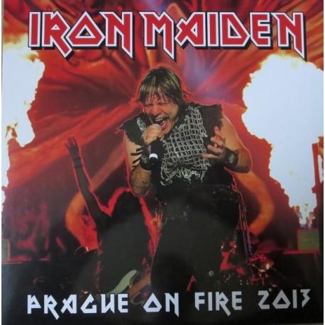 Iron Maiden – Prague On Fire 2013 - LP Vinyl Album Coloured Limited
