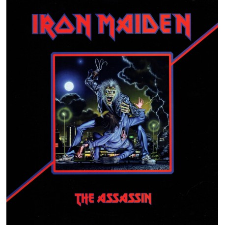 Iron Maiden ‎– The Assassin- LP Vinyl Album