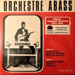 Orchestre Abass ‎– Orchestre Abass du Togo -  LP Vinyl Album Limited Edition