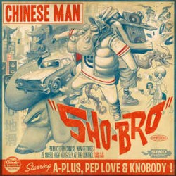 Chinese Man – Sho-Bro - EP 12 inches Vinyl Coloured Red