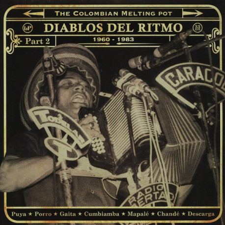 Diablos Del Ritmo: The Colombian Melting Pot 1960 - 1983 Part 2 - Double LP Vinyl
