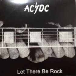 AC/DC ‎– Let There Be Rock - LP Vinyl Album Coloured Marbled