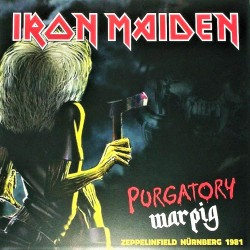 Iron Maiden ‎– Purgatory Warpig - LP Vinyl Album - Coloured Edition + Poster