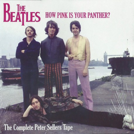 The Beatles ‎– How Pink Is Your Panther? - The Complete Peter Sellers Tape - LP Vinyl Album Coloured
