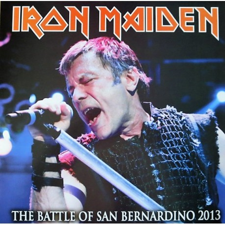 Iron Maiden ‎– The Battle Of San Bernardino 2013 - LP Vinyl Album Coloured