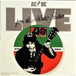 AC/DC ‎– Live From The Atlantic Studios - LP Vinyl Album