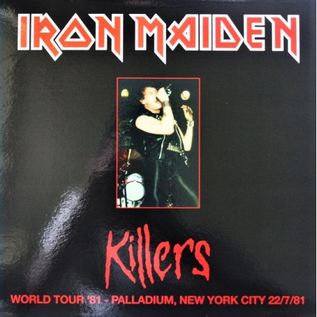 Iron Maiden ‎– Killers World Tour '81 Palladium NYC - LP Vinyl Album Coloured