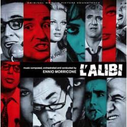 Ennio Morricone – L'Alibi - LP Vinyl Album Coloured - Limited Edition