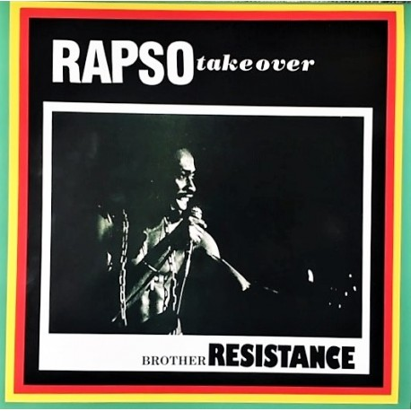 Brother Resistance – Rapso Take Over - LP Vinyl Album