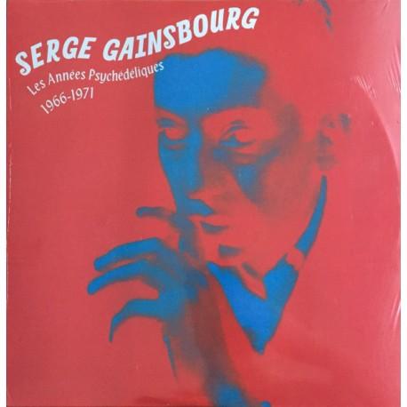 Serge Gainsbourg – Les Années Psychédéliques: 1966 - 1971 - Double LP Vinyl Album - Compilation
