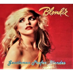 Blondie ‎– Gentlemen Prefer Blondes - LP Vinyl Album Promo Coloured