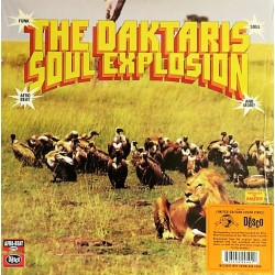 The Daktaris ‎– Soul Explosion - LP Vinyl Album Limited - Coloured Edition