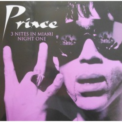 Prince ‎– 3 Nites In Miami - Night One- Double LP Vinyl Album
