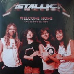 Metallica – Welcome Home, Live In London 1986 - LP Vinyl Album