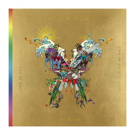Coldplay ‎– Live In Buenos Aires / Live In São Paulo / A Head Full Of Dreams - Triple LP Vinyl + 2 DVD