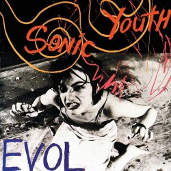 Sonic Youth ‎– Evol - LP Vinyl Album - Coloured Blue