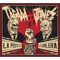 Tagada Jones – La Peste Et Le Choléra - LP Vinyl Album - Limited Edition