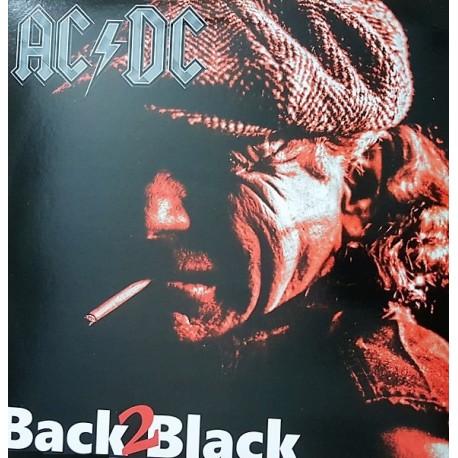 AC/DC – Back 2 Black - LP Vinyl Album Coloured