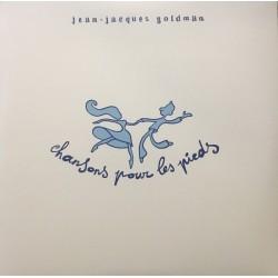 Jean-Jacques Goldman – Chansons Pour Les Pieds - Double LP Vinyl Album Coloured White