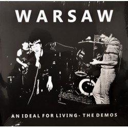 Warsaw ‎– An Ideal For Living - The Demos - LP Vinyl Album