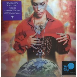 Prince ‎– Planet Earth - LP Vinyl Album Limited Coloured Purple