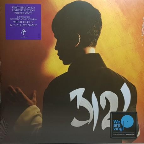 Prince – 3121 - Double LP Vinyl Album Limited Edition Coloured Purple