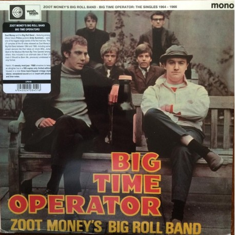 Zoot Money's Big Roll Band – Big Time Operator - The singles 1964-66 LP Vinyl Album