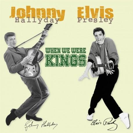Elvis Presley & Johnny Hallyday – When We Were Kings  - Double LP Vinyl Album