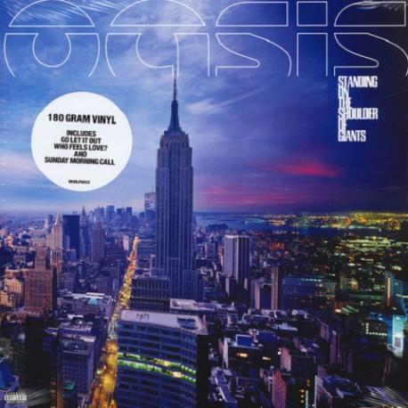 Oasis - Standing On The Shoulder Of Giants - LP Vinyl Album Gatefold Cover