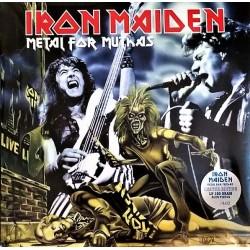 Iron Maiden – Metal For Muthas - Double LP Vinyl Album Coloured Edition