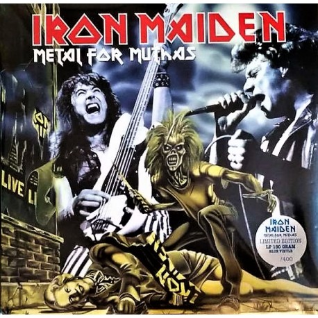 Iron Maiden ‎– Metal For Muthas - Double LP Vinyl Album Coloured Edition