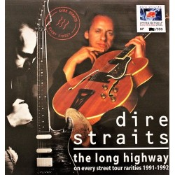Dire Straits ‎– The Long Highway - On Every Street Tour Rarities 1991-1992 - LP Vinyl Album Coloured