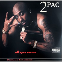2Pac ‎– All Eyez On Me - 4 LP Vinyl Hip Hop US