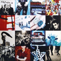 U2 – Achtung Baby - LP Vinyl Album Coloured