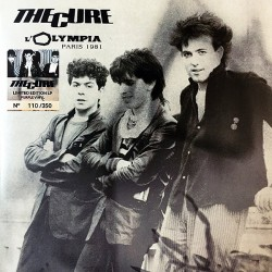 The Cure ‎– L'Olympia - Paris 1981 - LP Vinyl Album Coloured