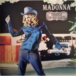 Madonna ‎– Welcome To The Party - LP Vinyl Album Coloured