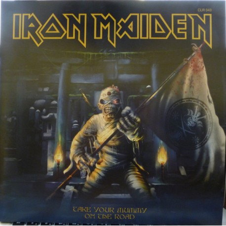 Iron Maiden ‎– Take Your Mummy On The Road - Double LP Vinyl Album Picture Disc Collector