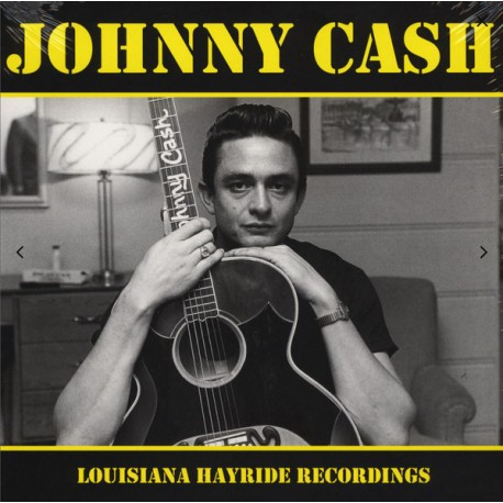 Johnny Cash ‎– Louisiana Hayride Recordings - LP Vinyl Album Limited