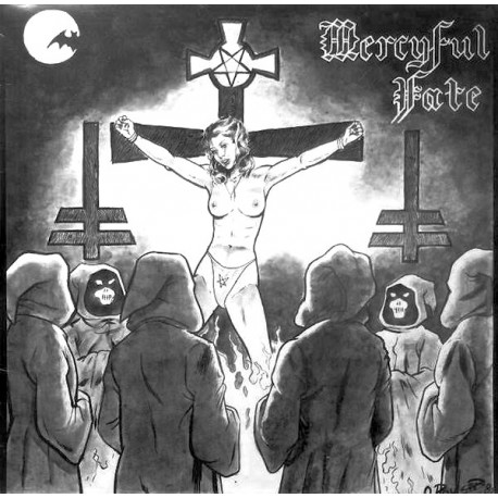 Mercyful Fate ‎– Mercyful Fate - LP Vinyl Album Coloured Edition