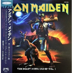 Iron Maiden ‎– The Beast Down Under Vol.1 & Vol.2 - Double LP Vinyl Album Picture Disc Collector