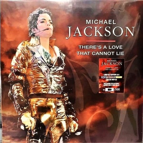Michael Jackson – There's A Love That Cannot Lie - Triple LP Vinyl Coloured Numbered