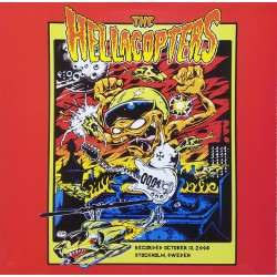 The Hellacopters ‎– Recorded October 13, 2008 Stockholm, Sweden - LP Vinyl Album