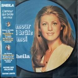 Sheila – L'Amour Qui Brûle En Moi - LP Vinyl Album Picture Disc Collector