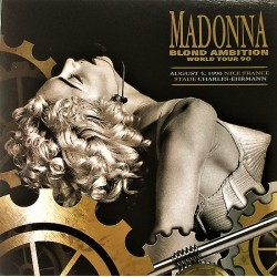 Madonna ‎– Blond Ambition World Tour 1990 Double LP Vinyl Coloured